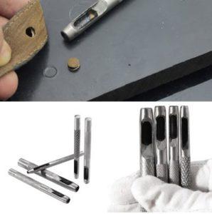 deri aletleri - deri delme zımbası