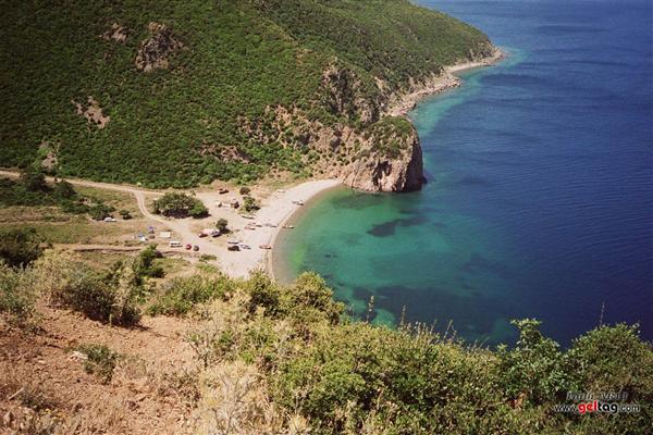Karaağaç Koyu Plajı Kamp