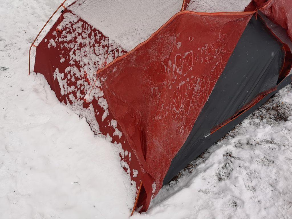 Kış kampı için uyku tulumu tavsiyesi